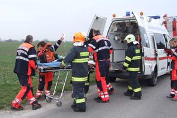 Dievčatko záchranári oživovali takmer 30 minút. Vrtuľníkom ho previezli do Bratislavy, zraneniam však podľahlo.