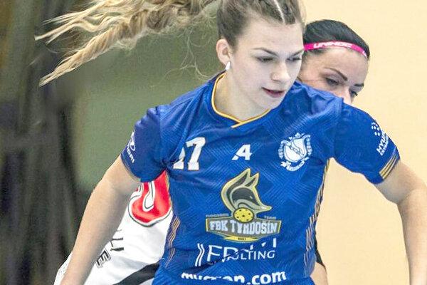 Michaela Dulková hrá na druhých majstrovstvách sveta.