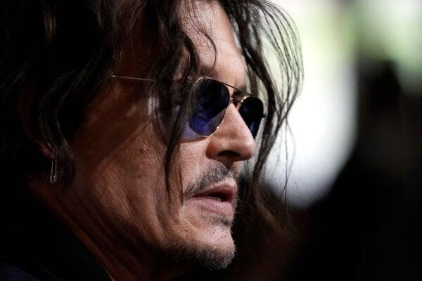 Johnny Depp v Karlovych Varoch.