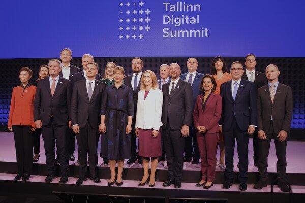 Minister Veronika Remišová vystúpila na digitálnom summite v Estónsku.