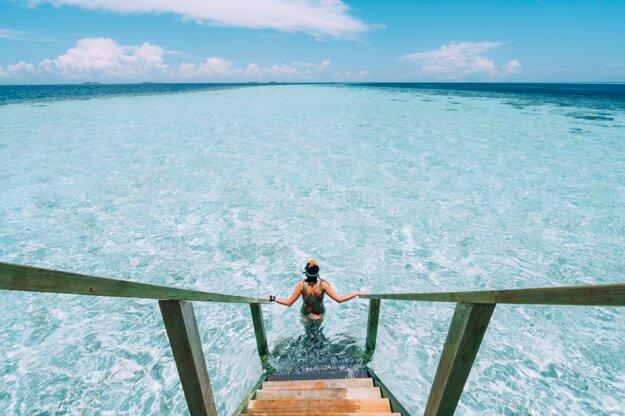 Ostrovný raj na Maldivách