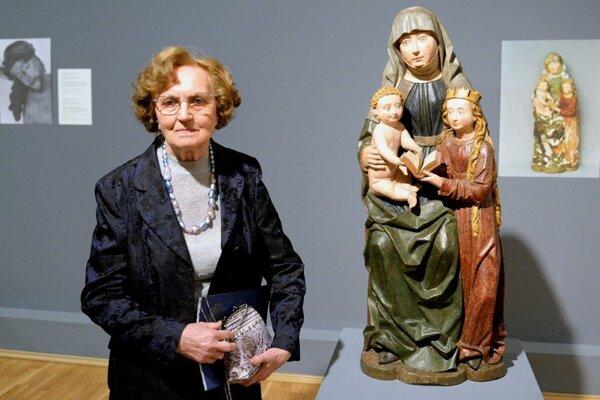"""""""To duchovné, čo dielo obsahuje, to je dôležité,"""" povedala v  jednom z rozhovorov Mária Spoločníková."""
