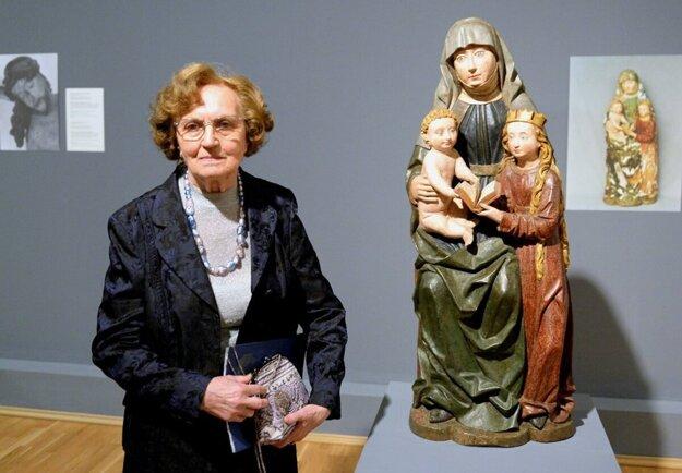 To duchovné, čo dielo obsahuje, to je dôležité, povedala v jednom z rozhovorov Mária Spoločníková.
