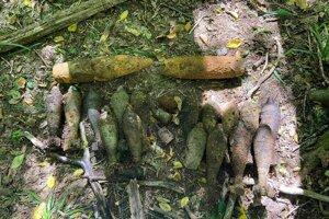 Na prechádzke lesom našiel muníciu.