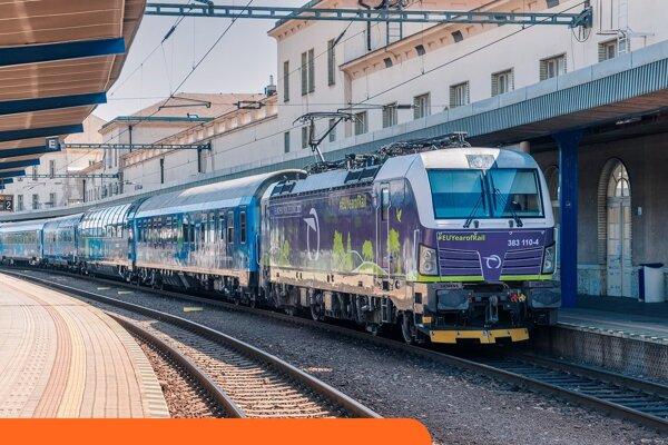 Vlak vyštartoval z portugalského Lisabonu 2. septembra.