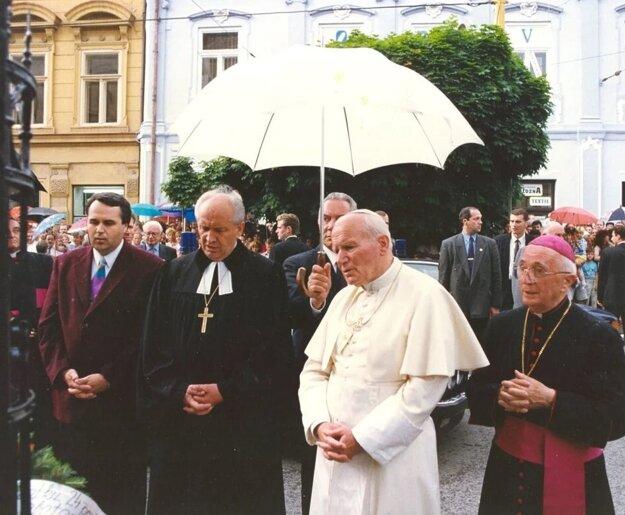 Historický okamih v Prešove 1995.