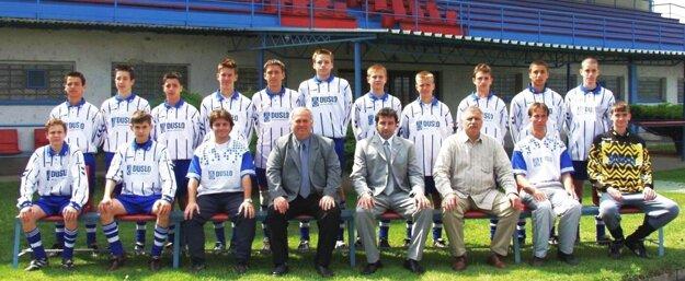 Starší žiaci Šale v sezóne 2002/03.