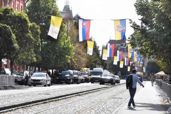 Košice očakávajú príchod pápeža Františka.
