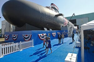 Americká ponorka triedy Virginia na jadrový pohon.