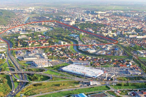 Medzi železnicou a Prešovskou cestou by malo vzniknúť nové mestské centrum so službami aj úradmi.