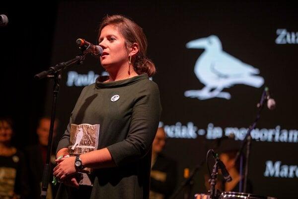 Novinárka Monika Tódová.