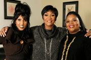 Trio LaBelle (zľava) Nona Hendryx, Patti LaBelle a Sarah Dash v Los Angeles v roku 2009.