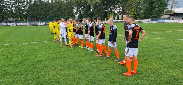 3. kolo Slovnaft Cupu medzi Lučencom a Košicami