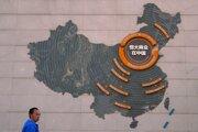 Čínska developerská spoločnosť Evergrande.