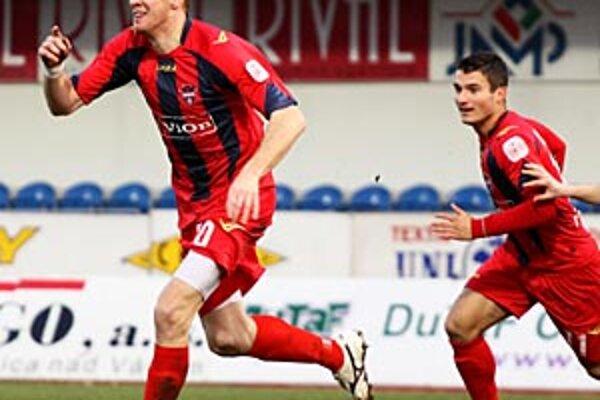 Karol Pavelka sa v Dubnici tešil z prvých dvoch gólov v sezóne.