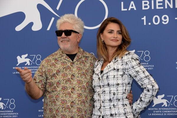 Pedro Almodóvar so svojou múzou Penélope Cruzovou