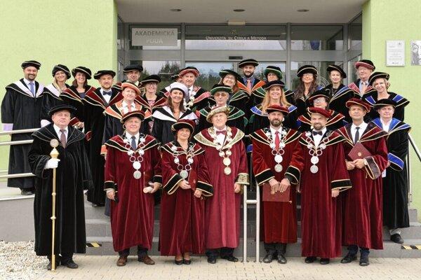 Slávnostné otvorenie akademického roka 2021/2022