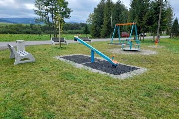 Nové detské ihrisko v Liesku.