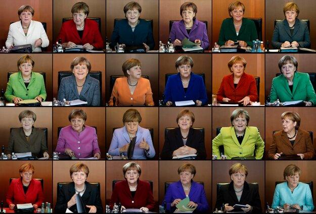 Merkelovej prejavy.