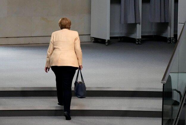 Angela Merkelová ako kancelárka po 16 rokoch končí.