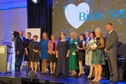 Na udeľovaní ocenenia Biele srdce sa zúčastnil aj minister zdravotníctva Vladimír Lengvarský.