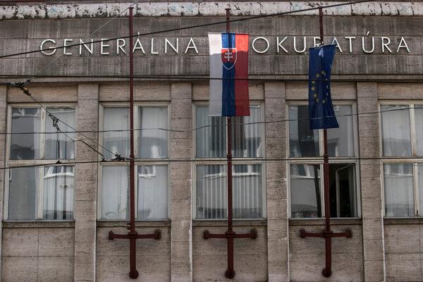 Budova Generálnej prokuratúry v Bratislave.