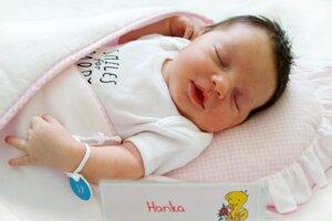 Hana Bošková z Lazian sa narodila 16. 8. 2021 v Bojniciach