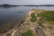 Brazíliu trápia suchá a nedostatok zrážok.
