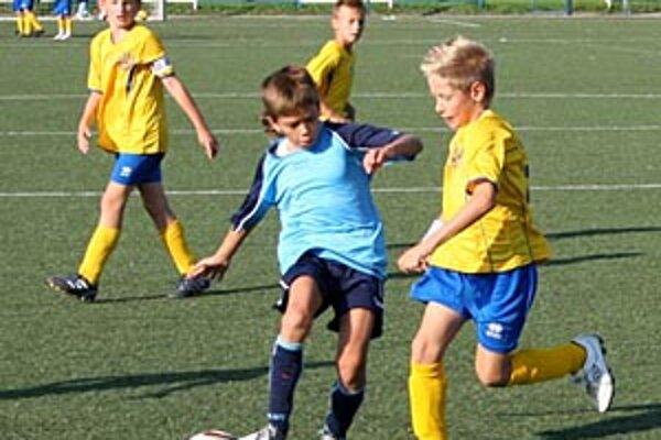 Snímka zo stretnutia štvrtákov FC Nitra B - Dun. Streda (1:3).