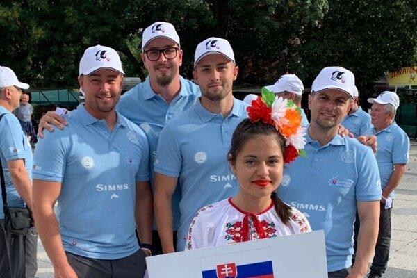 Levický tím na majstrovstvách v Bulharsku: Peter Klesniak,  Robert Novotný, Peter Augustín, Marek Rojtáš.