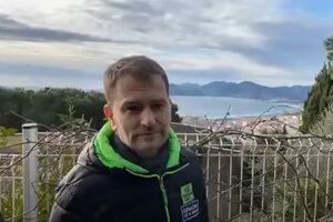 Igor Matovič pred voľbami v Cannes.