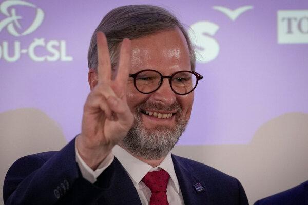 Líder koalície Spolu Petr Fiala.