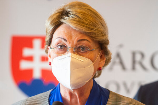 Poslankyňa hnutia OĽaNO Anna Záborská.