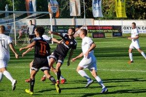 Zo zápasu Lučenec - Oravské Veselé