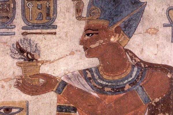 Podobizeň faraóna Ramessa III.