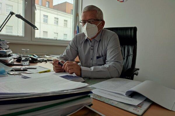 Riaditeľ Via Lux v Barci a poverený riaditeľ zariadenia Arcus Vojtech Hintoš.