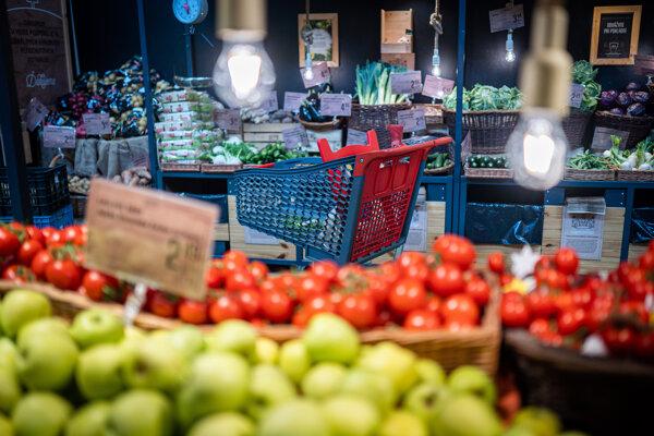 Jednou z najväčších položiek, ktorá sa podieľa na vysokej inflácii, sú potraviny.