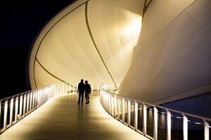 vstup do pavilónu na svetovej výstave EXPO Dubaj 2020 v Spojených arabských emirátoch.