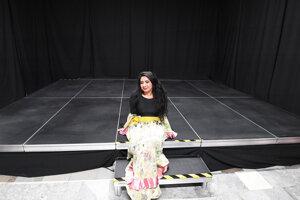 Novinkou v sídle divadla Romathan je i multifunkčné pódium.