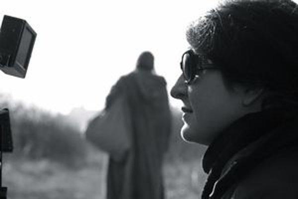 Režisérka filmu Marianna Čengel-Solčanská.