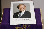 Fotografia poslanca britskej Konzervatívnej strany Davida Amessa, ktorého pobodali pri stretnutí s voličmi.