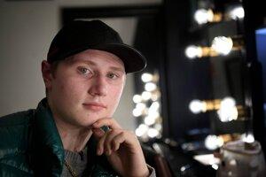 Švédsky raper Einár.