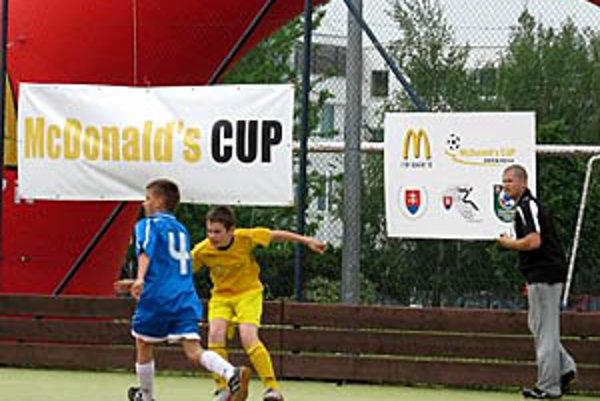 Krajské kolo McDonald's Cupu sa hralo na ihrisku ZŠ Fatranská v Nitre.