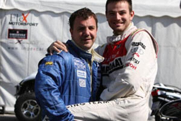 Nitrianski šampióni Marek Ďurovkin (vľavo) a Filip Sládečka.