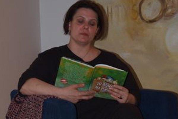 Veronika Šikulová čítala zo svojej knihy To mlieko má horúčku.