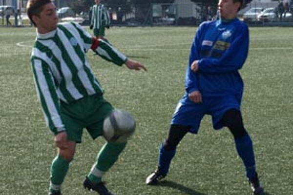 Z duelu Nitra - Ferencváros 0:0.
