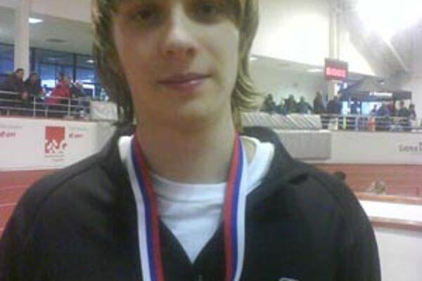 Dušan Páleník vyhral beh na 400 metrov.