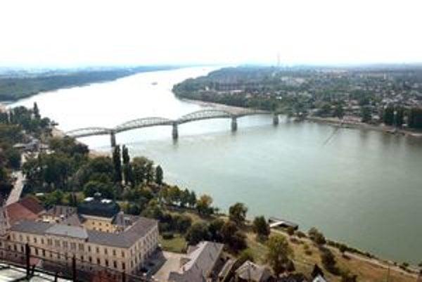Most Márie Valérie dnes.