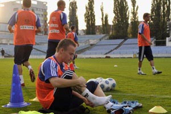 """Miroslav Stoch sa sústredí na zápas """"dvadsaťjednotiek"""", ktorý sa hrá už dnes o 16.30 h v Zlatých Moravciach."""