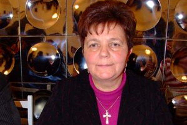 Primátorka Zlatých Moraviec Serafína Ostrihoňová čelí kritike.